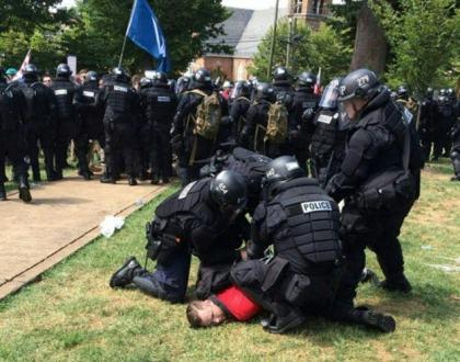 Police Arrest White Supremacist