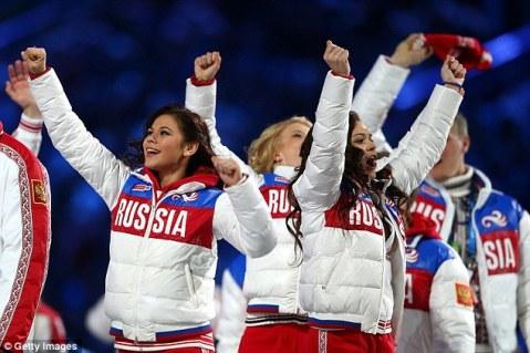 Russia Athletes